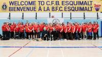 Les membres d'Équipe Canada participant aux Warrior Games de 2019