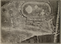 Baseball diamond constructed in Tincques, France in 1918 Library and Archives Canada