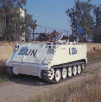 Canadian M113 in Cyprus