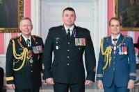 Gen Jonathon Vance (CDS), CWM Lapointe, Governor General Julie Payette