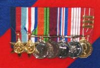 "Medals of Col William ""Bill"" Chesley Wilton, CD (Ret'd)"