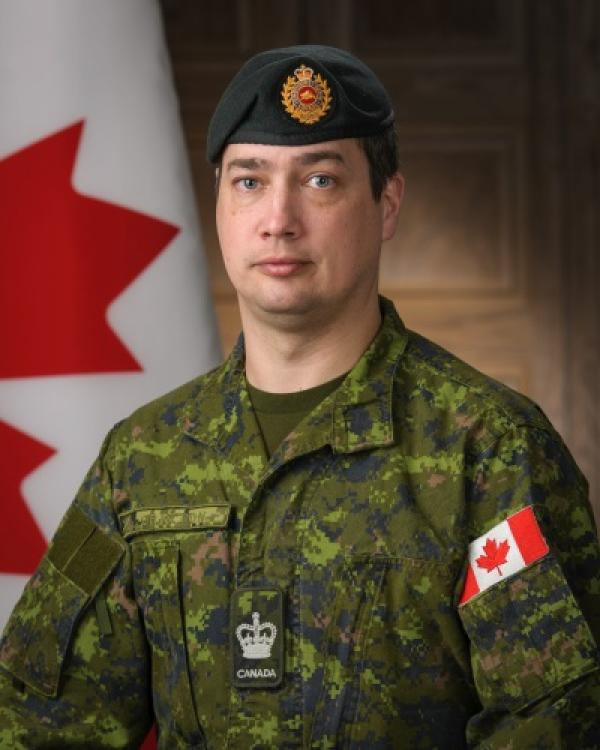 Military firefighter canada