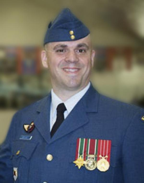 Sgt Pierre Morisot, CD | Canadian Military Engineers