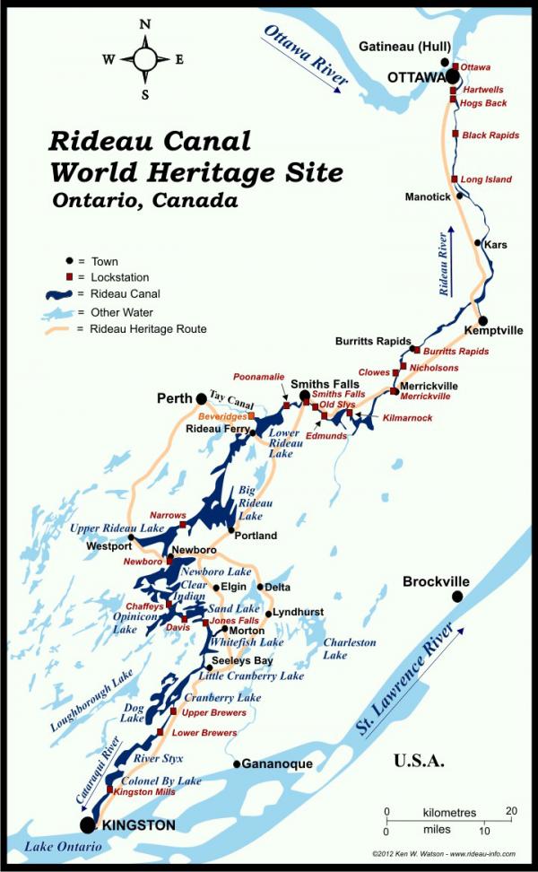 Rideau Map