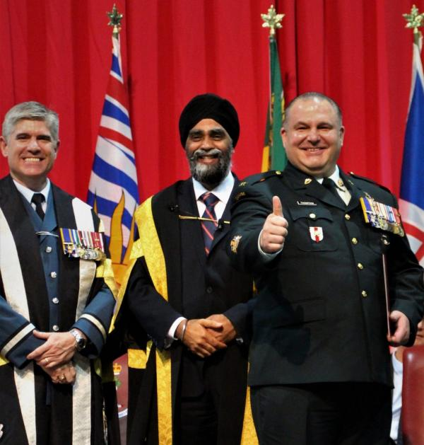 Combat Engineer Completes NCMPD Programme | Canadian