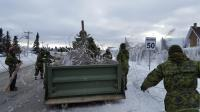 4 ESR clears fallen trees: Acadian Peninsula Ice Storm