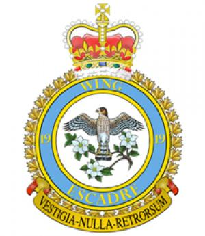 19 Wing Comox Badge